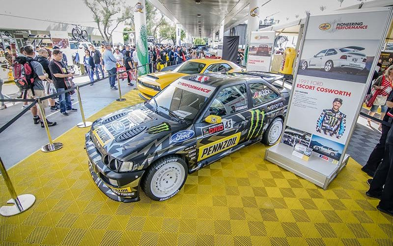 Ken Block and Pennzoil Unveil Gymkhana TEN Vehicle and Tease the Upcoming Video at SEMA