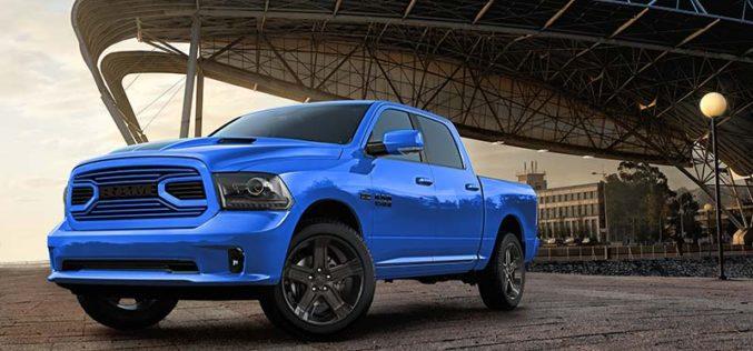 Ram Unveils Special Edition 2018 Hydro Blue Sport