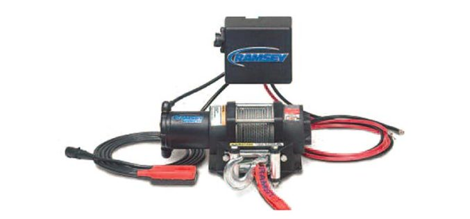 Ramsey Badger 2500 Winch