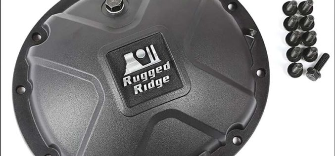 Rugged Ridge Boulder Aluminum Differential Cover