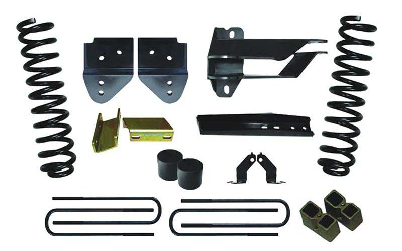 Skyjacker 4-In. Suspension Lift Kit with Black MAX Shocks