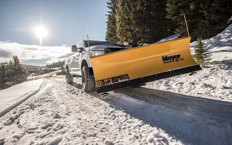 Nissan Adds Snow Plow Prep Package for 2018 Titan XD