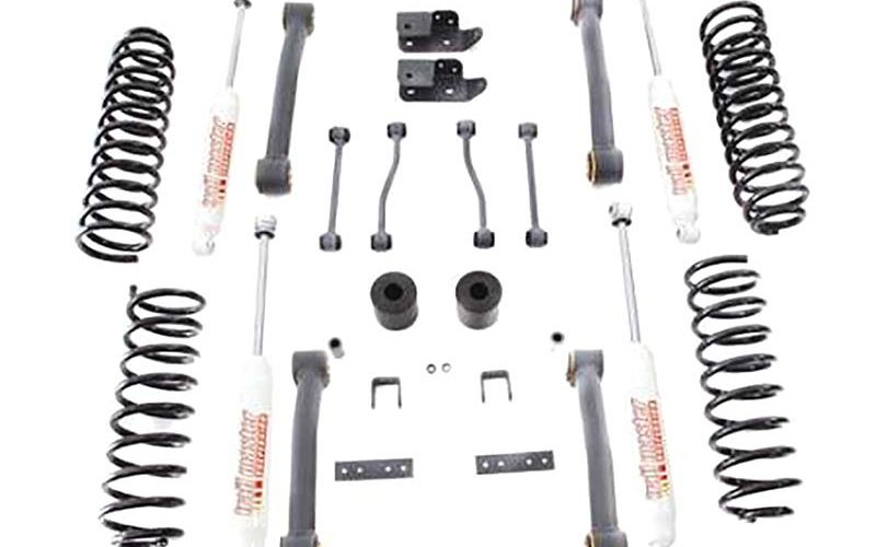 Trail Master 4-Inch Lift Kit with NCG Shocks