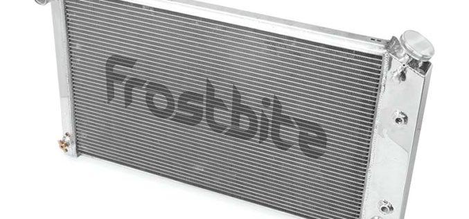 Frostbite Aluminum Radiator – 2-Row for 64-88 GM