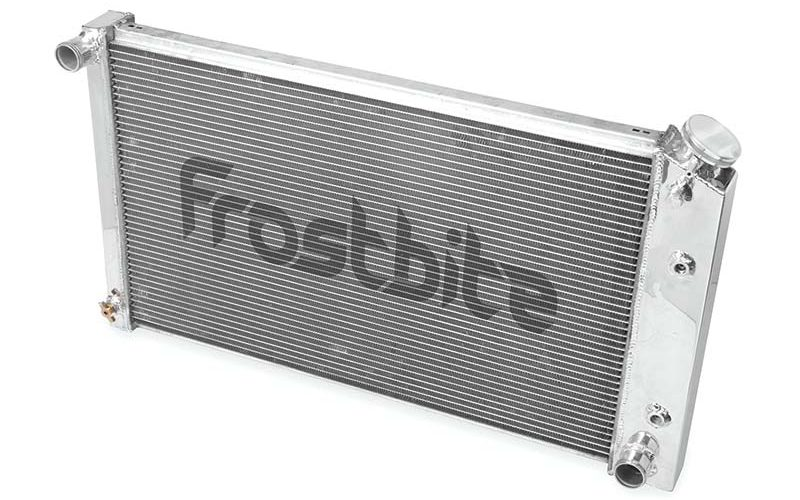 Frostbite Aluminum Radiator – 2-Row for 64-88 GM
