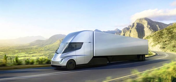 Tesla Finally Officially Unveils Semi Truck