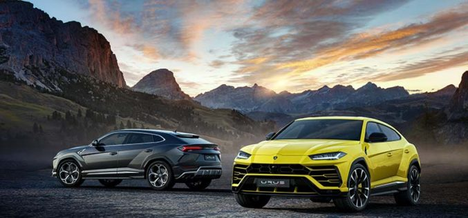 Lamborghini Unveils the World's First Super Sport Utility Vehicle