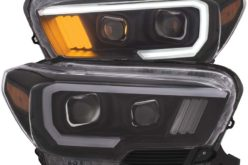 Anzo USA Now Offering Projector Plank Style Headlight for 2016-17 Toyota Tacoma