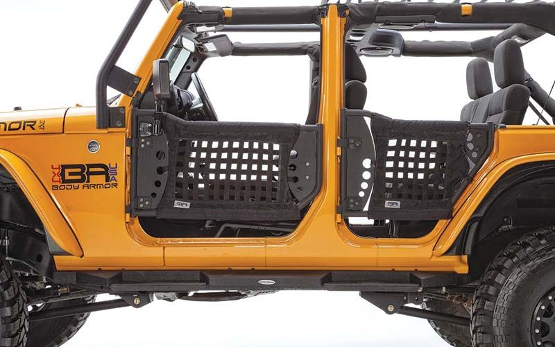 GEN 3 TrailDoors for Jeep Wrangler JK Unlimited from Body Armor