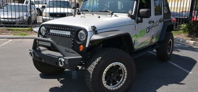 DV8 Off-Road LED Jeep Grille