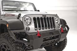Fab Fours Vengeance Front Bumper for Jeep JK