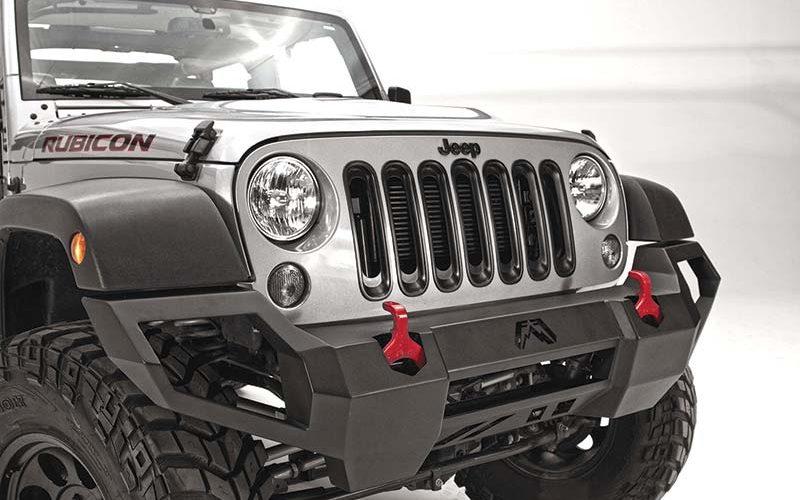 Fab Fours Vengeance Front Bumper for Jeep JK