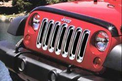 Mopar Jeep Wrangler Grille Appliques
