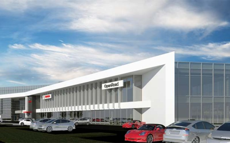 Largest Toyota Dealership in Canada Breaks Ground