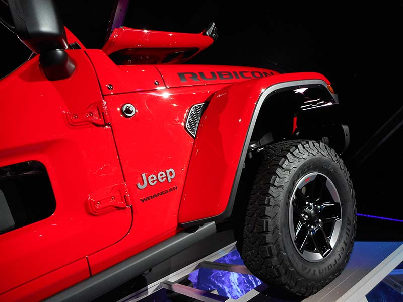 2018 Jeep Wrangler Officially Unveiled Plus Automotive