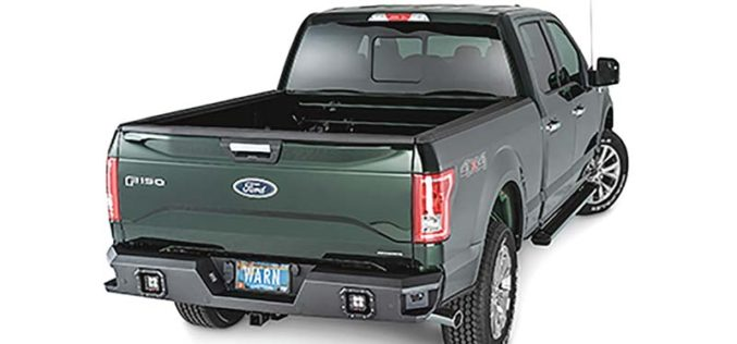 Warn Ascent Rear Bumpers