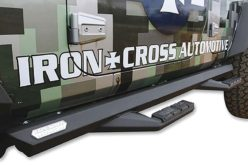 Iron Cross Automotive's New Sidearm Step