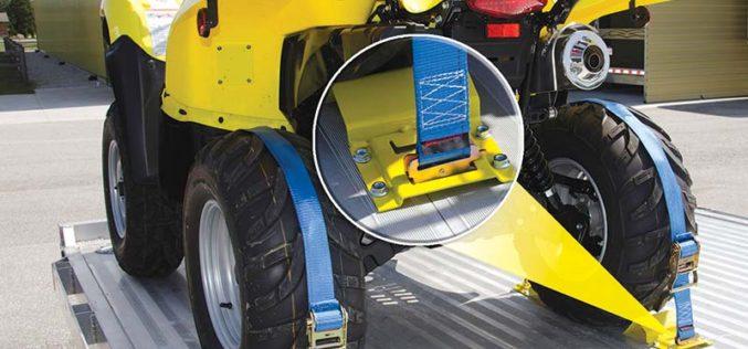 Erickson Manufacturing Wheel Chock and Strap Kit