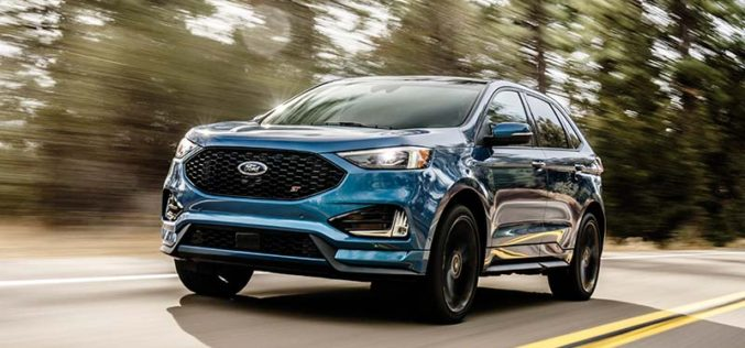 Ford Introduces First Performance-Enhanced SUV, the Edge ST