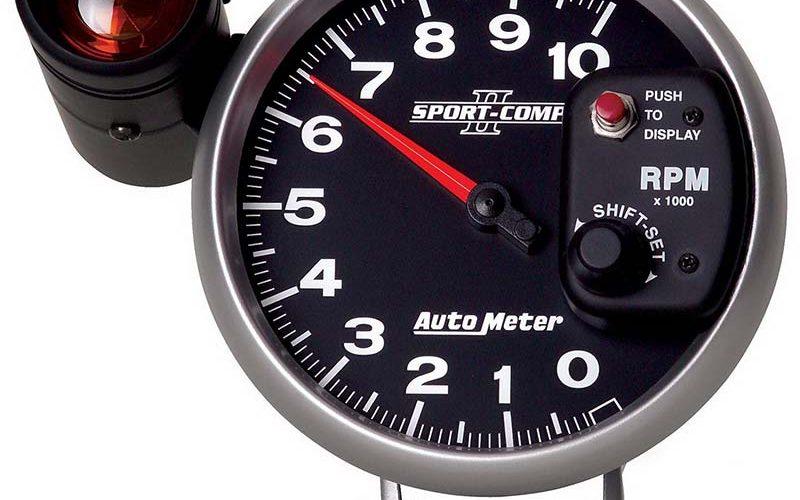 Auto Meter Sport-Comp II Five-Inch Tachometer