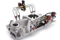 Pre-Assembled Direct Port Nitrous Intake Manifolds from Edelbrock