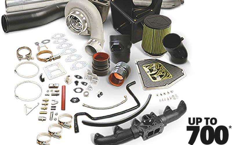 BD Diesel Rumble B SX-E Turbo Kits