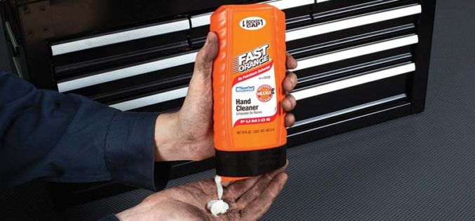 Permatex Fast Orange Hand Cleaner Rocker Cap Bottle