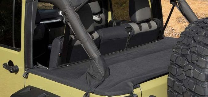 Rugged Ridge Tonneau Covers for Jeep Wrangler JK