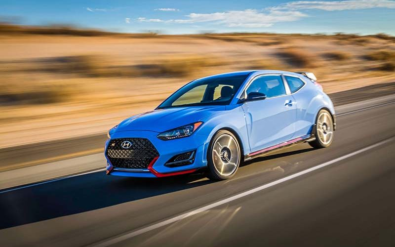 2019 Hyundai Veloster N Set to Become Hyundai's First High Performance Model