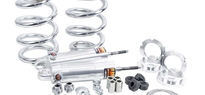 Front Coil-Over Dual Adjustable Shocks Kit for Mustang II from Flaming River
