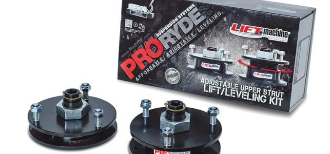 ProRYDE LIFTmachine Adjustable Front Lift Leveling Kit