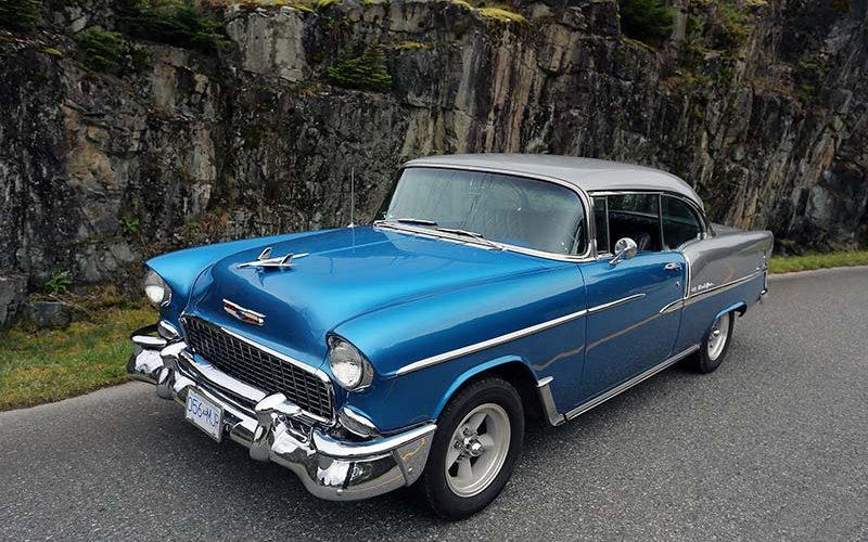 The Hot One: Lloyd Davies' 1955 Chevrolet Bel Air
