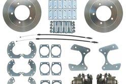 Performance World Ford Truck Rear Disc Brake Conversion Kit