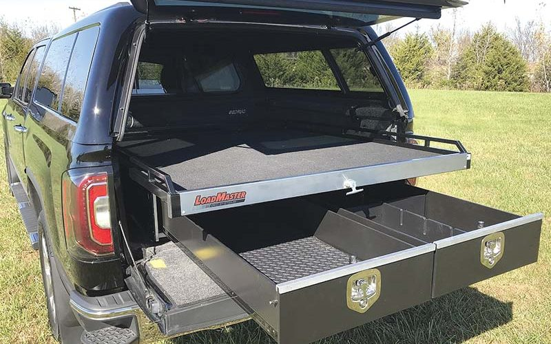 LTA Manufacturing Now Offering the LoadMaster In-Bed Cargo System