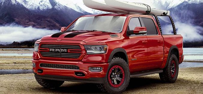 RAM and Mopar Collaborate to Customize the All-New 2019 Ram 1500
