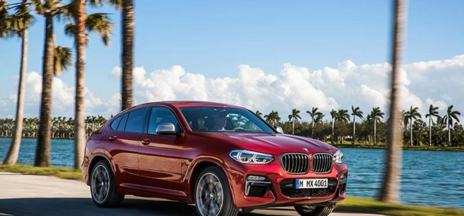 Second Generation, All-New 2019 BMW X4 Unveiled