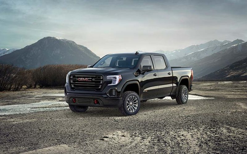 GMC Introduces All-New Off-Road-Oriented Sierra AT4
