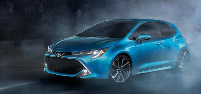 Toyota Introduces All-New Corolla Hatchback