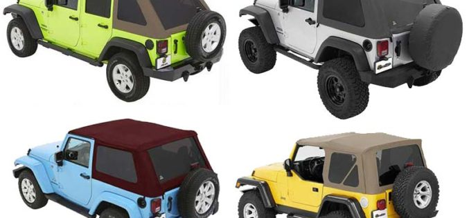 Bestop Now Offering Customizable Jeep Soft Tops