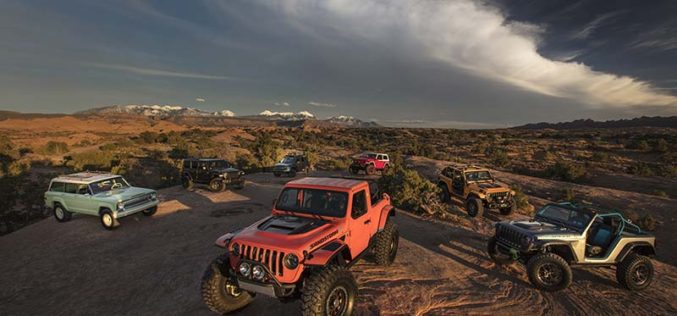 Jeep and Mopar Unveil Seven Concept Vehicles for Moab Easter Jeep Safari