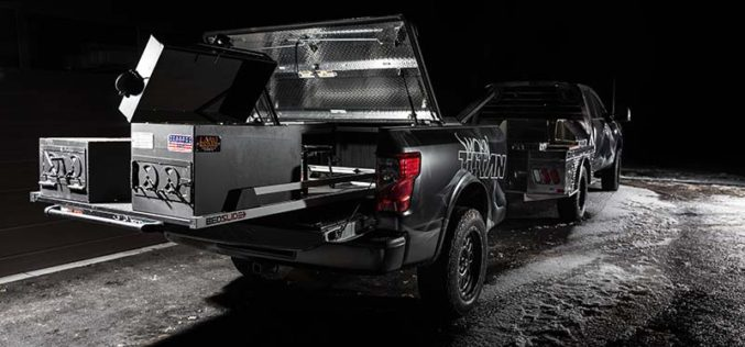 Nissan Reveals Smokin' TITAN Project Vehicle with Fully Integrated Smoker and Mobile Kitchen