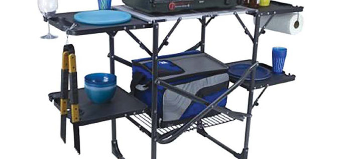 Cap-it Slim-Fold Cook Station