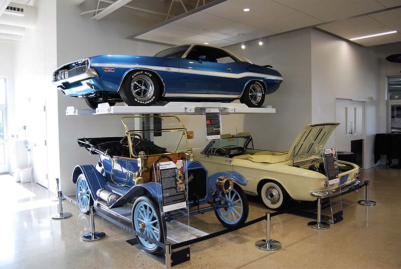 feature: the automobile gallery raises muscle cars to art | plus