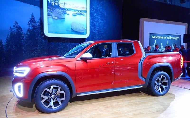 Volkswagen Introduces Its Atlas Tanoak Truck Concept