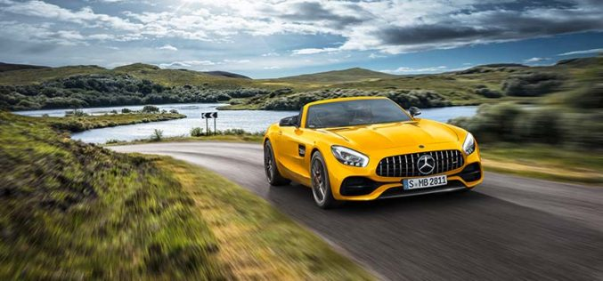 Mercedes Introduces All-New AMG GT S Roadster