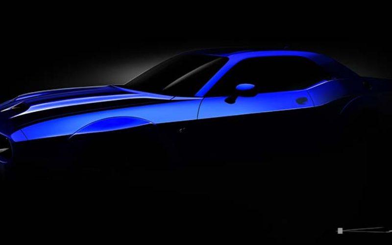 Dodge Teases the 2019 Challenger SRT Hellcat