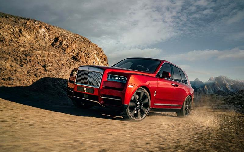 Rolls Royce Unveils its First SUV Called Cullinan