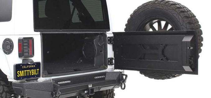 Smittybilt XRC Tailgate with Tire Carrier