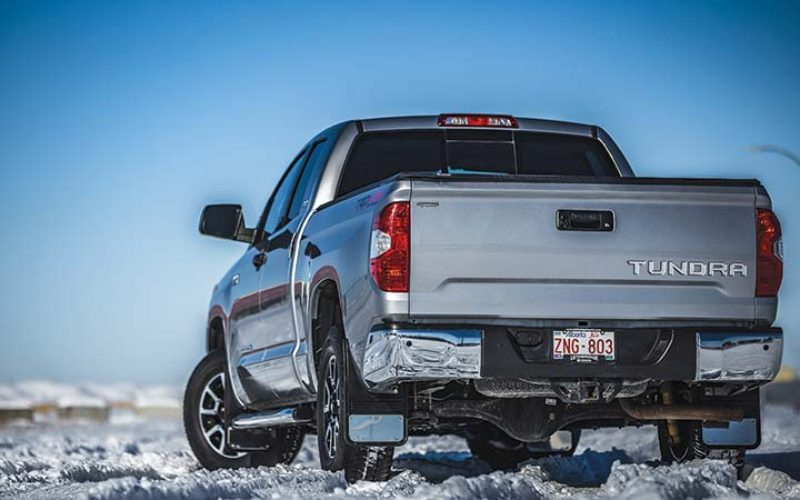 Truck Hardware Gatorback Custom Fit Mudflaps for Toyota Trucks