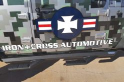 Iron Cross Automotive Sidearm Step